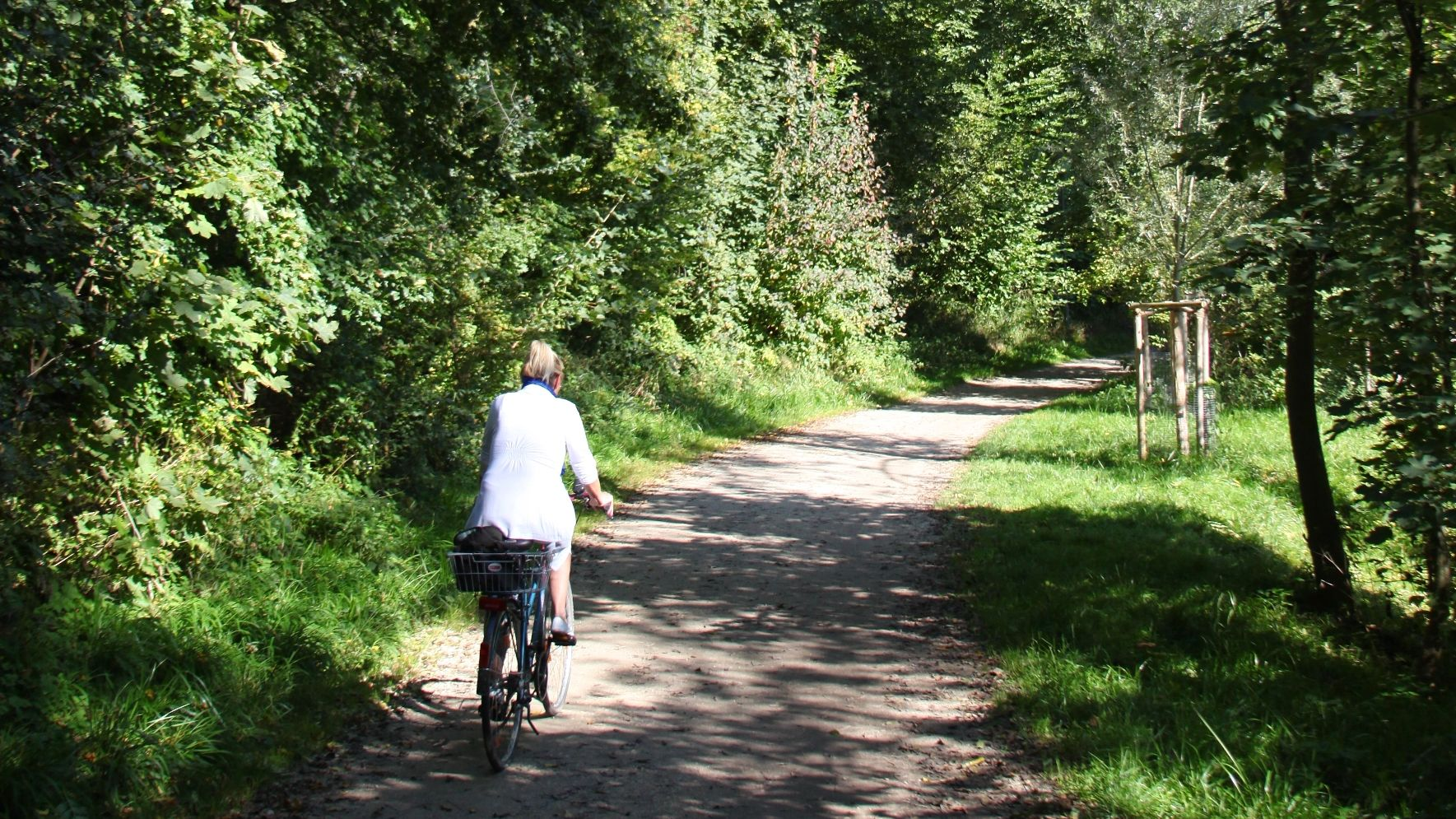 Ammer-Amper cycle track near Dachau, Photo: City of Dachau